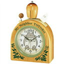 【正規品】リズム時計 クロック CITIZEN シチズン 4RA455MN06 目覚まし時計 キャラクター時計