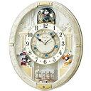 SEIKO セイコー クロック FW580W 電波 からくり時計 ミッキーマウス