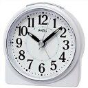 【正規品】SEIKO セイコー クロック NR439W 目覚まし時計 置時計 PYXIS ピクシス