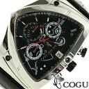 COGU コグ 腕時計 C43-BK メンズ クロノグラフ...
