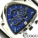 COGU コグ 腕時計 C43-BL メンズ クロノグラフ...