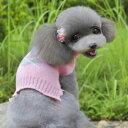 ドッグウエア Autumn Cloth 秋 冬 犬用服 ペット用品 grid sweater Pink ピンク セーター