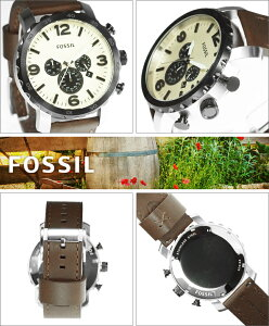 FOSSILフォッシル腕時計JR1390メンズNATEネイト