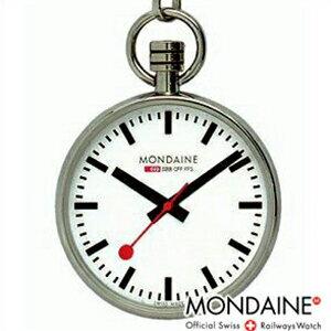 【レビュー記入確認後3年保証】モンディーン クロック MONDAINE 時計 正規品 A6603031611SBBポケットウォッチ Pocket Watch ポケットウォッチ