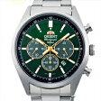 【3年延長保証】 ORIENT オリエント 正規品 腕時計 WV0031TX メンズ Neo70's ネオセブンティーズ クロノグラフ