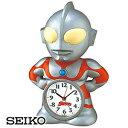 SEIKO セイコークロック JF336A キャラクタークロック ウルトラマン目覚まし時計 4517228010156【明日楽】