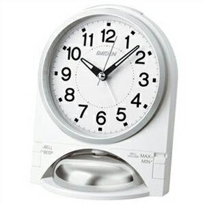 SEIKO セイコー クロック NR436W 目覚まし時計 PYXIS ピクシス RAIDEN ライデン