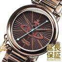 【レビュー記入確認後3年保証】ヴィヴィアンウエストウッド 腕時計 Vivienne Westwood 時計 並行輸入品 VV006KBR レディース Orb オ...
