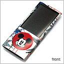 【iPod nano 5th 保護シール】【即納】【iPod nano 5th ディズニー 保護シール ミッキー】フィルム/保護シール/保護フィルム/シール