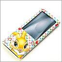 【即納】iPod(アイポット) nano(ナノ) 5th ディズニー セミハードケース ミスバニー 液晶保護フィルム付き
