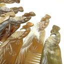 水牛角の櫛 一つ一つ職人の手作りです ベトナム雑貨 櫛 プレゼント クリスマスプレゼント ギフト ヘアーアクセサリー ポーチ 着物 勤労感謝の日 静電気が起きない櫛 かっさ 母の日