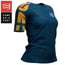 COMPRESSPORT コンプレスポーツ レディース トレーニング Tシャツ TSTNW-KA19 Training Tshirt SS W Kona 2019 コンプレッション 加圧 ..