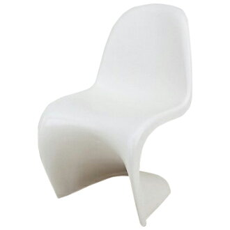 Bread ton chair white つやなし