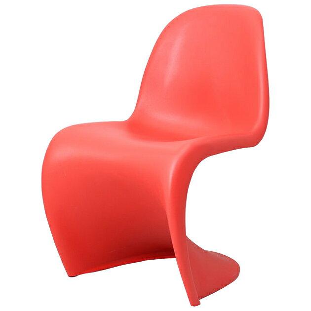 ヴェルナー・パントン パントンチェア レッド つやなし パントンチェア チェア イス パントン ヴェルナー・パントン 椅子 スタッキング リプロダクト ジェネリック