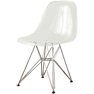 Eames shell Chair DSR clear