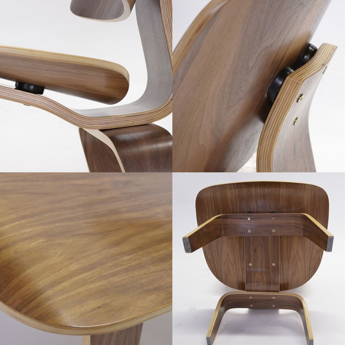 Marvelous photograph of  Rakuten Global Market: Eames LCW lounge chair Wood walnut with #432C23 color and 1200x1200 pixels
