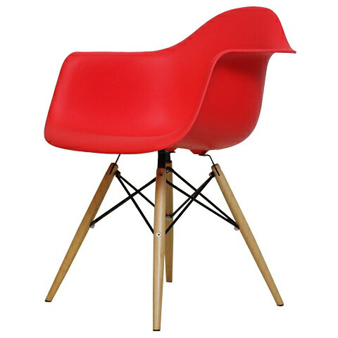 chaoscollection rakuten global market shell chair dining chairs eames daw pp red. Black Bedroom Furniture Sets. Home Design Ideas