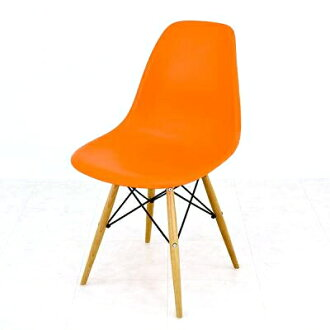 Eames shell Chair DSW Orange Eames Chair