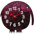 ジョージネルソン ズータイマークロック ぞう エリフザエレファント エレファント ぞうさん 象 正規品 時計