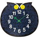 ジョージネルソン ズータイマークロック ふくろうオマーザオウル 正規品掛け時計 時計 ジョージ・ネルソン送料無料 フクロウ クロック