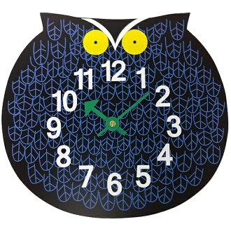 George Nelson zoo timer clock owl オマーザオウル clock