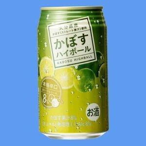 JAフーズ かぼすハイボール 340mlケース(24本入り)