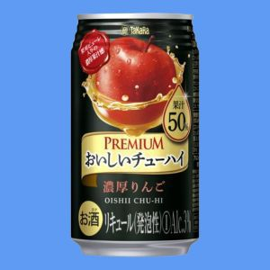タカラ おいしいチューハイプレミアム 濃厚りんご...の商品画像