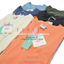 ピグメント 半袖 Tシャツ プリンタブル S M L LL サイズ メンズ レディース 兼用 無地 アメカジ 古着 ヴィンテージ 大人 カジュアル KONGOW プリント加工にも最適