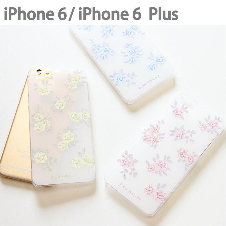 スマホケース iPhone 6 iPhone 6s iPhone 6sPlus ケース 対応 クリアケース Flower | アイフォン スマホ ハード スマホカバー カバー 花 花柄 シンプル