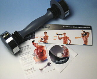 Appeared on TV! In the United States with a popular Sheik weight Shake Weight dumbbell