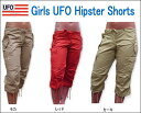 今人気!ヒップホップアブスやズンバで使える!UFO GIRL'S HIPSTER SHORTSガールズヒップスターショーツ