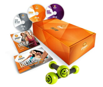 (ZUMBA) Zumba fitness gold live Live it up DVD 3-disc