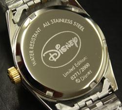 ミッキーファンタジア70周年ダイヤ腕時計「ファンタジア」公開70周年メモリアル!【カラー】ブラック/ホワイト★メンズ、レディスございます!