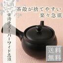 【常滑焼急須】【送料無料】(ティーポット 便利 使いやすい 洗いやすい 茶がら捨てやすい 常滑焼 急須)