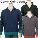 【全商品10%OFFクーポン】Calvin Klein Jeans カルバンクラインハーフジップセーター