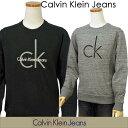 【全商品10%OFFクーポン】Calvin Klein Jeans Men'sCKビッグロゴ トレーナー【2017-Fall/NewModel】カルバンクライン トレーナー送料無料
