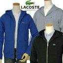 【全商品10%OFFクーポン】Lacoste ラコステMen'sポケット付フルジップパーカー【ラコステ】【送料無料】