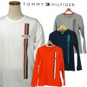 Tommy Hilfiger 長袖プリント Tシャツ !【2015-Spring