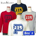POLO by Ralph Lauren Boy'sPOLOプリント長袖Tシャツ【ラルフローレン ボーイズ】