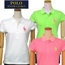 POLO by Ralph LaurenラルフローレンGirl'sビッグポニー半袖鹿の子ポロシャツ【2016-Spring/NewColor】ラルフローレン ガールズギフト ..