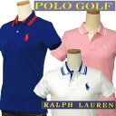 POLO GOLF by Ralph Lauren レディースミドルポニー半袖鹿の子ポロシャツ【2015-Spring/NewColor】【ラルフローレン】ギフト プレゼント