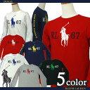 POLO by Ralph Lauren Boy'sビッグポニープリント長袖Tシャツ【2015-Spring/NewModel】【ラルフローレン ボーイズ】