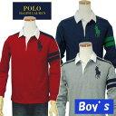 POLO by Ralph Lauren Boy'sラルフローレンビッグポニー長袖ラガーシャツ、バック67【ラルフローレン ボーイズ】
