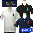 POLO by Ralph Lauren Boy'sラルフローレンビッグポニー半袖鹿の子ポロシャツ【2015-Spring/NewColor】【ラルフローレン ボーイズ】【送料無料】