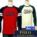 POLO by Ralph Lauren Boy'sラルフローレンベースボール 長袖Tシャツ【ラルフローレン ボーイズ】