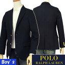 【全商品10%OFFクーポン】POLO by Ralph Lauren Boy's【イタリア製】ウール メタルボタン ネイビーブレザー【ラルフローレン ボーイズ】【送料無料】