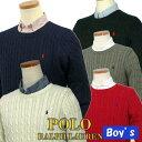 POLO by Ralph Lauren Boy's定番コットン ケーブルセーターラルフローレン セーター#323520626 #323509758 #3235...