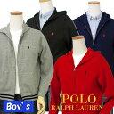 POLO by Ralph Lauren Boy'sコットン フルジップパーカー【2016-Fall/NewModel】ラルフローレン パーカー