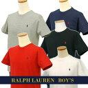 POLO by Ralph Laurenラルフローレン Boy's定番半袖 ポイントTシャツ【ベーシックカラー】ラルフローレンボーイズ