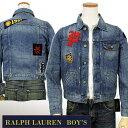 【最大5000円OFFクーポン】POLO Ralph Lauren Boy'sデニムジャケット【2016-Fall/NewModel】【ラルフローレン Gジャン】【送料無料】